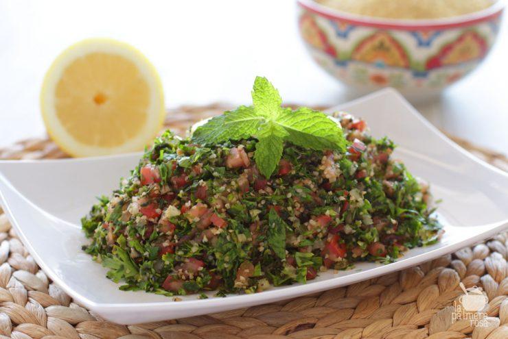 Tabulé o ensalada libanesa, un sabroso plato para este jueves